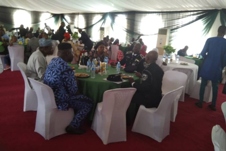 GRADUATION LUNCH, INSTITUTE FOR SECURITY STUDIES, DEPARTMENT OF STATE SECURITY(DSS), ABUJA, NIGERIA.